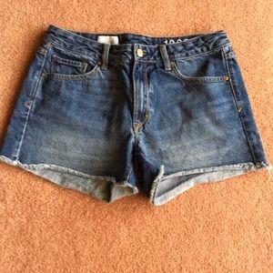 Gap slim cut offs shorts denim size 27